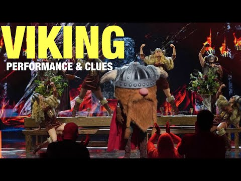 The Masked Singer Viking: Performance, Clues & Guesses (Episode 4)
