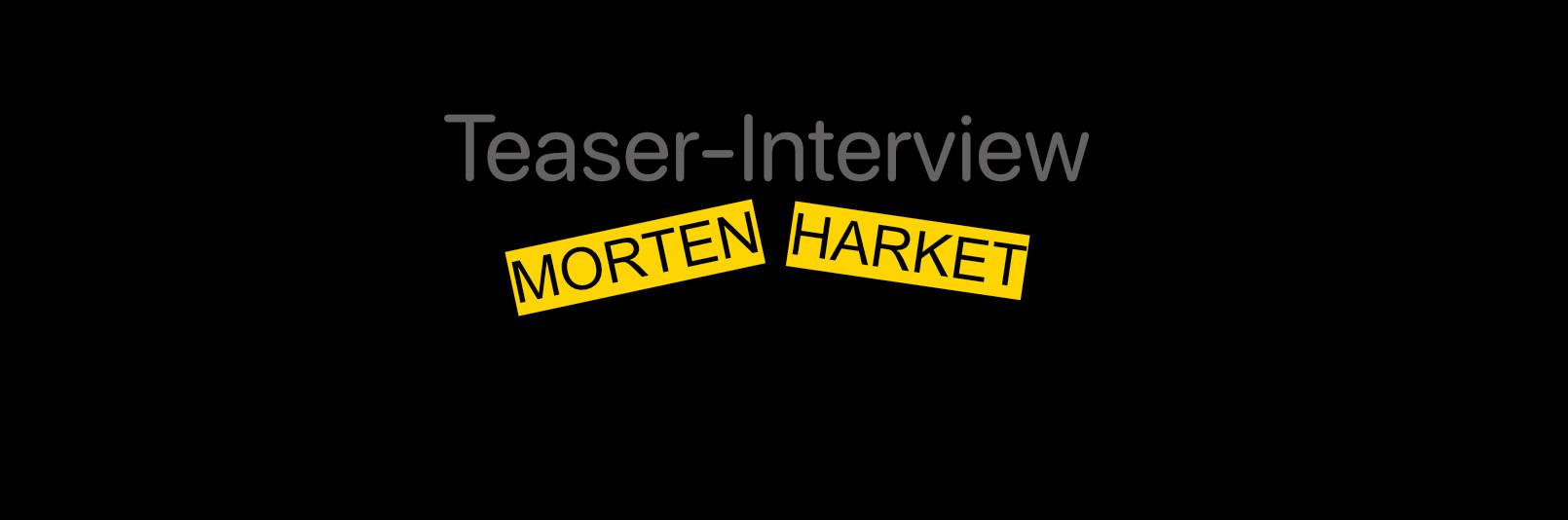Morten Harket Interview Teaser