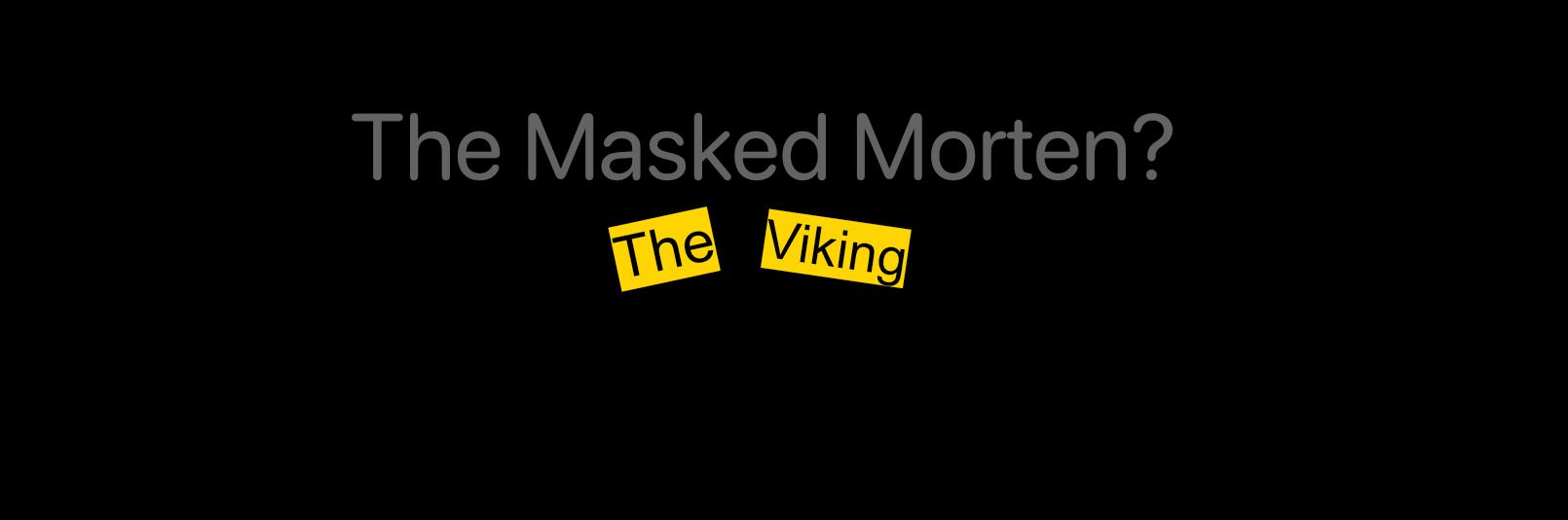 The Masked Singer UK Morten Harket